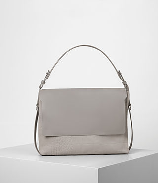 Womens Paradise Satchel Bag (LIGHT GRY/MID GREY)