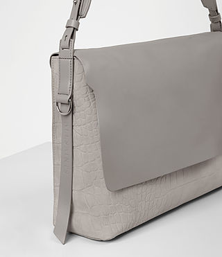 Donne Paradise Satchel Bag (LIGHT GRY/MID GREY) - product_image_alt_text_2