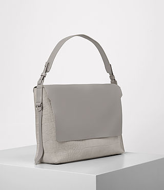 Women's Paradise Satchel Bag (LIGHT GRY/MID GREY) - product_image_alt_text_3