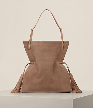 Mujer Freedom Hobo Slouchy Bag (LIGHT CARAMEL)