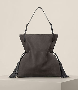 Women's Freedom Hobo Slouchy Bag (GRAPHITE GREY)