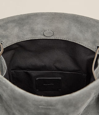 Donne Borsa bucket scamosciata Freedom (Smoke Grey) - product_image_alt_text_5