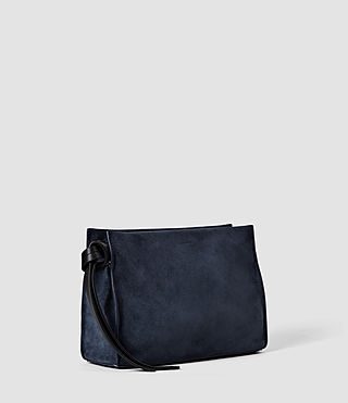 Femmes Lafayette Clutch Bag (PETROL BLUE/BLACK) - product_image_alt_text_2