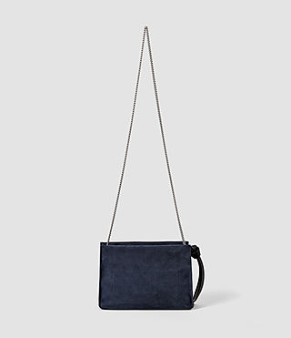 Femmes Lafayette Clutch Bag (PETROL BLUE/BLACK) - product_image_alt_text_3