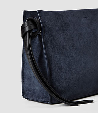Femmes Lafayette Clutch Bag (PETROL BLUE/BLACK) - product_image_alt_text_4