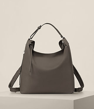 Damen Kita Backpack (MINK GREY) -