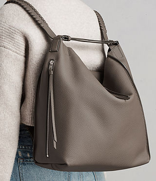 Damen Kita Backpack (MINK GREY) - product_image_alt_text_2