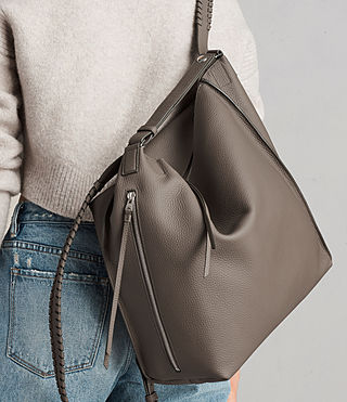Damen Kita Backpack (MINK GREY) - product_image_alt_text_3