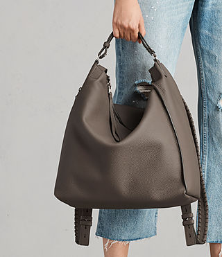 Damen Kita Backpack (MINK GREY) - product_image_alt_text_4