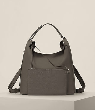 Womens Kita Backpack (MINK GREY) - Image 9