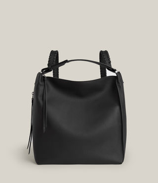 Womens Kita Backpack (Black) - product_image_alt_text_2