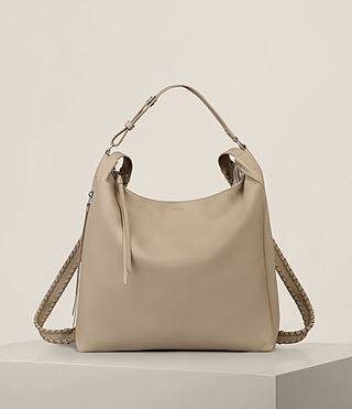 Womens Kita Backpack (LIGHT TAUPE GREY) - product_image_alt_text_1