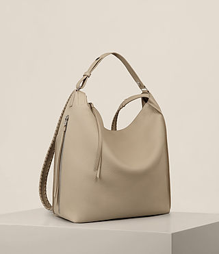 Womens Kita Backpack (LIGHT TAUPE GREY) - product_image_alt_text_7