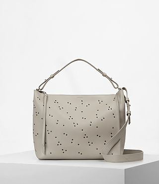 Womens Junai Crossbody (Stone/White)