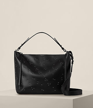 Womens Junai Crossbody (Black)