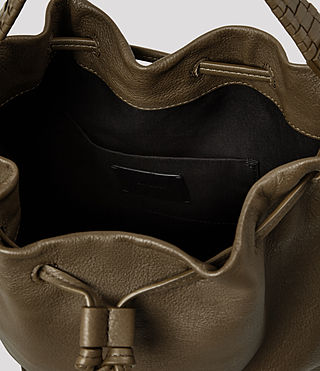 Damen Club Bucket Bag (Dark Khaki Green) - product_image_alt_text_4