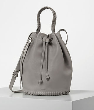 Women's Club Bucket Bag (Mid Grey) -
