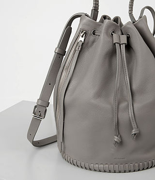 Women's Club Bucket Bag (Mid Grey) - product_image_alt_text_2
