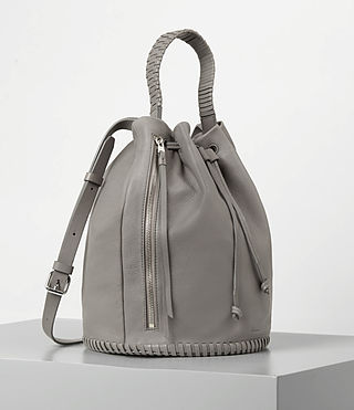 Women's Club Bucket Bag (Mid Grey) - product_image_alt_text_3
