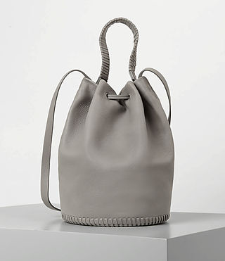 Women's Club Bucket Bag (Mid Grey) - product_image_alt_text_5