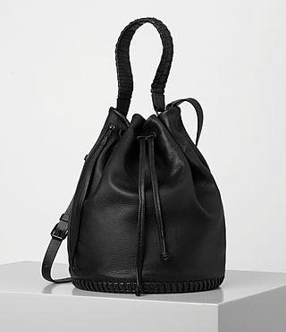 Women's Club Bucket Bag (Black) -