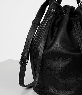 Women's Club Bucket Bag (Black) - product_image_alt_text_3