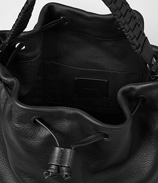 Women's Club Bucket Bag (Black) - product_image_alt_text_5