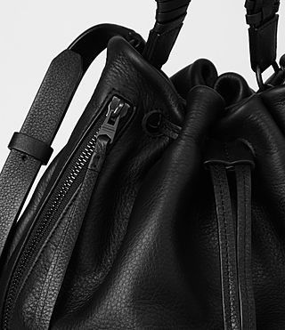Women's Club Bucket Bag (Black) - product_image_alt_text_6
