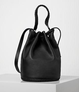Women's Club Bucket Bag (Black) - product_image_alt_text_7