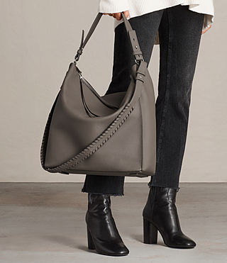 Womens Kita North South Tote (MINK GREY) - product_image_alt_text_2