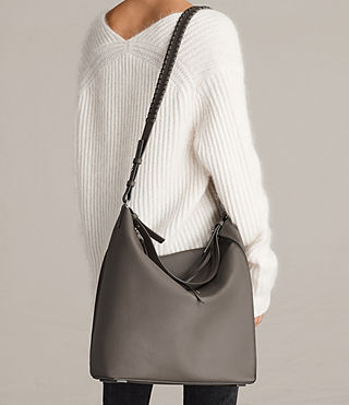 Womens Kita North South Tote (MINK GREY) - product_image_alt_text_3