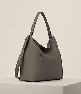 Womens Kita North South Tote (MINK GREY) - product_image_alt_text_5