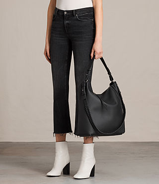 Women's Kita North South Tote (Black) - product_image_alt_text_2