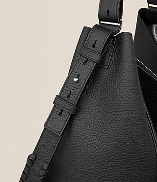 Women's Kita North South Tote (Black) - product_image_alt_text_3
