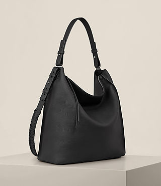 Women's Kita North South Tote (Black) - product_image_alt_text_5