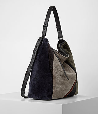 Womens Kita North South Tote (Taupe Brown) - product_image_alt_text_4