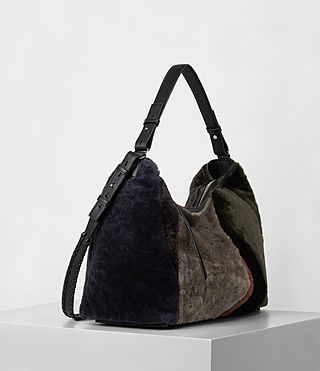 Damen Kita E/w Tote (Taupe Brown) - product_image_alt_text_4