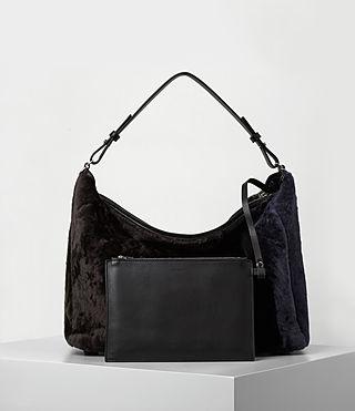 Damen Kita E/w Tote (Taupe Brown) - product_image_alt_text_6