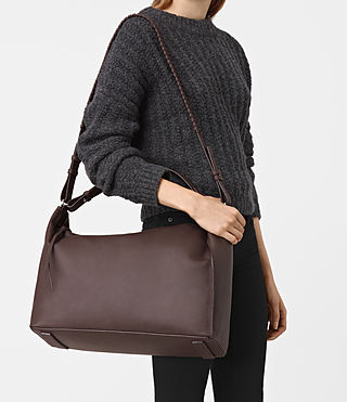 Womens Kita East West Tote (PRUNE) - product_image_alt_text_2