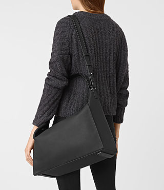 Womens Kita East West Tote (Black) - product_image_alt_text_2