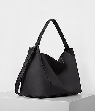 Womens Kita East West Tote (Black) - product_image_alt_text_4