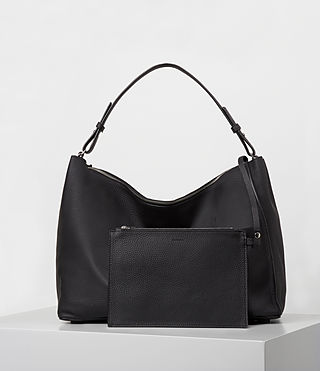 Womens Kita East West Tote (Black) - product_image_alt_text_6