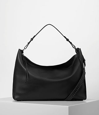 Womens Kita Large East West Tote (Black)