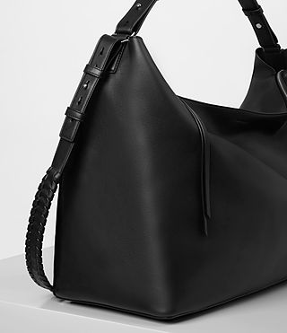 Women's Kita Large East West Tote (Black) - product_image_alt_text_3