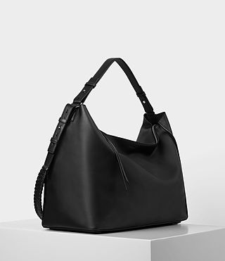 Women's Kita Large East West Tote (Black) - product_image_alt_text_4