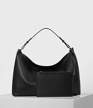 Femmes Kita Large East West Tote (Black) - product_image_alt_text_6