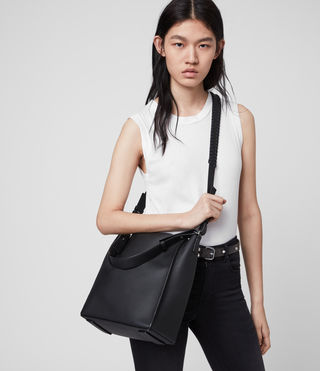 Womens Kita Crossbody (Black) - product_image_alt_text_1