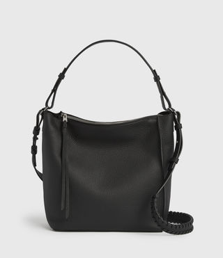 Womens Kita Crossbody Bag (Black) - Image 2