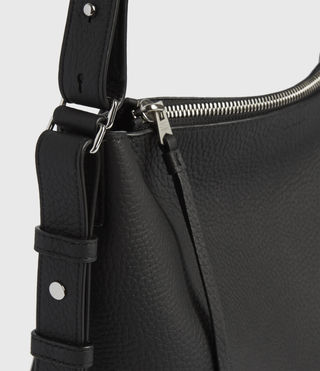 Womens Kita Crossbody Bag (Black) - Image 6