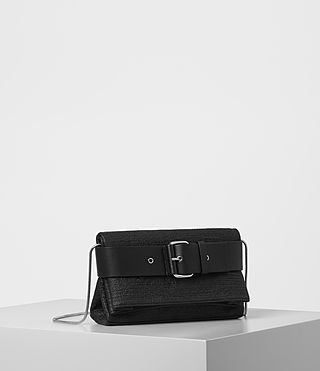 Mujer Zoku Clutch (Black) - product_image_alt_text_3